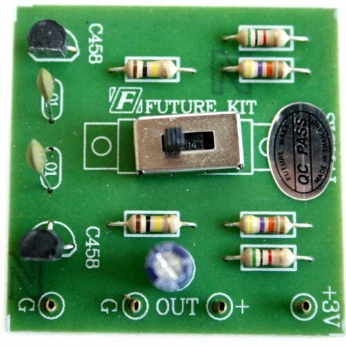 Future Kit Two Tone Signal Generator DIY FK903 500Hz 1000Hz Solder Flux Workshop