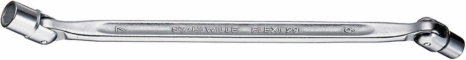 Stahlwille DOUBLE ENDED FLEXI-JOINT SPANNER 43010607