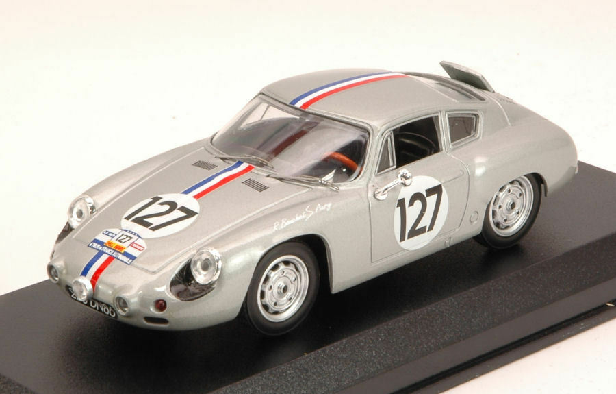 Porsche Abarth Abarth Abarth #127 Tour De France 1961 Bouchet / Aury 1:43 Model BEST MODELS | Insolite  f08bb6