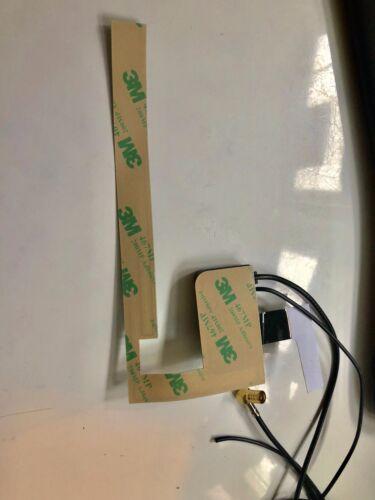 DAB Dischi Antenna Adattatore Radio Digitale Vetro attivamente Antenna Adesiva Finestra SMB