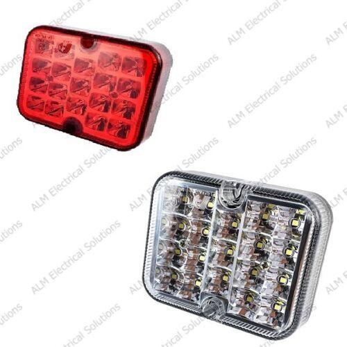 "LED Posteriore Nebbia /& Reverse Lampada Auto Roulotte Caravan 12v /""e/"" Approvato RCT495 /& RCT496"