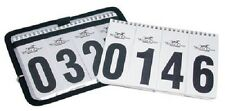 SET 2 World Class Equine WINNING NUMBERS Horse Show Blanket Number Holders Black