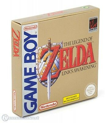 GameBoy - The Legend of Zelda: Link's Awakening (nicht DX) (DE) (mit OVP) wieNEU