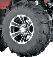 Set (2) Itp 27-9-12 & (2) 27-10-12 Mud Lite Atv Utv Tires And Wheels Itp Ss Hd