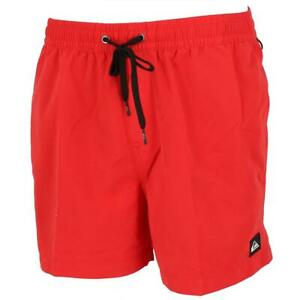 Short de bain Quiksilver Everyday volley 15 red Rouge 90101 - Neuf