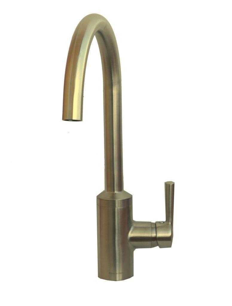 KLUDI Einhebel Küchenarmatur, Spültischarmatur Steel 38850F660 edelstahlfinish
