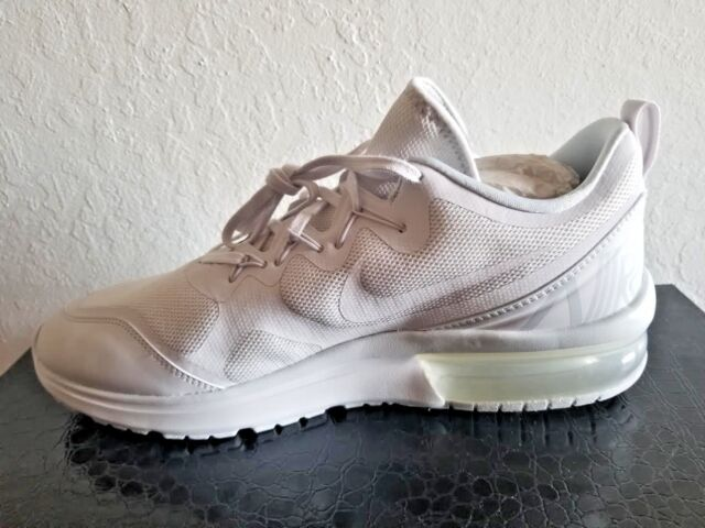 29bb9480b495 Mens Nike Air Max Fury Running Shoes White Pure Platinum Gray AA5739-100 SZ  11