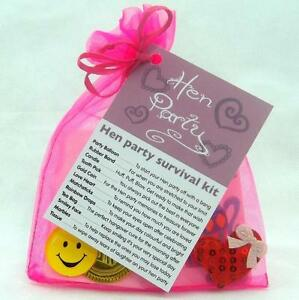 Image Is Loading Bride To Be Hen Party Survival Kit Novelty