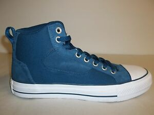 Details about Converse Size 8 Mens 9.5 Womens M CT Asylum Mid Blue Sneakers  New Unisex Shoes 208db27a1