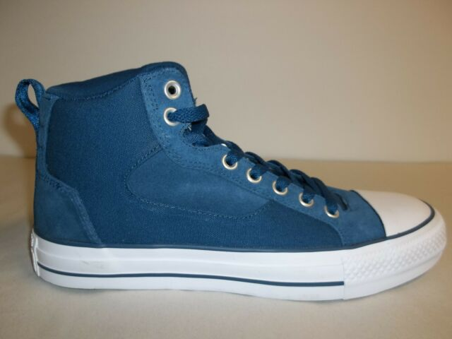 e17a6b9ff673 Converse Size 8 Mens 9.5 Womens M CT Asylum Mid Blue Sneakers New Unisex  Shoes