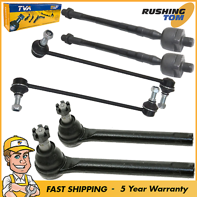 4pc Kit New Front Inner /& Outer Tie Rod End Links for 2005-2007 Nissan Murano
