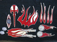 Orange Co Choppers Schwinn Stingray Decal Set Occ Sticker Pack 10 Pieces Total