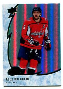 2019-20 UD Ice Alex Ovechkin Card #8 Washington Capitals