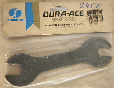 NEW Shimano Dura Ace 13-14 mm hubs cone spanners wrenches cones Vintage NOS