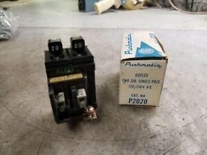 50 amp 240 volt Push-a-Matic breaker P250