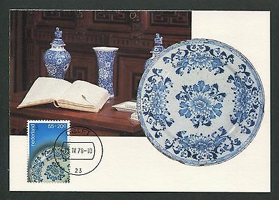 Briefmarken Niederlande Mk 1978 Delft Keramik Art Ceramics Pottery Maxi Card Mc Cm D5771 Hoher Standard In QualitäT Und Hygiene