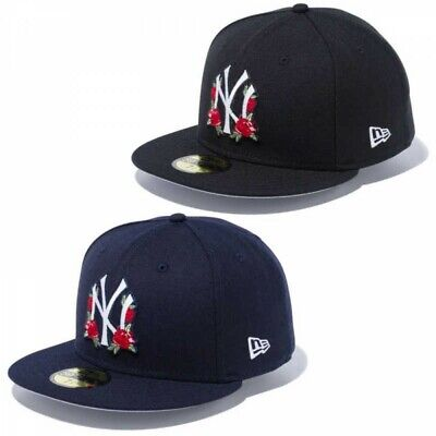 NEW ERA 59FIFTY Fitted Cap Rose Motif New York Yankees 2 Colors Japan Tracking