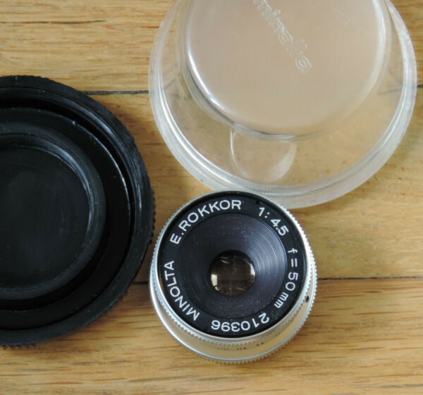 50 Mm 1: 4.5 E.rokkor Minolta, Objectif D'agrandisseur (enlarger Lens)