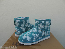 UGG MARLIN TROPICAL HAWAII CLASSIC MINI SUEDE/ SHEEPSKIN BOOTS, US 8/ EU 39 ~NIB