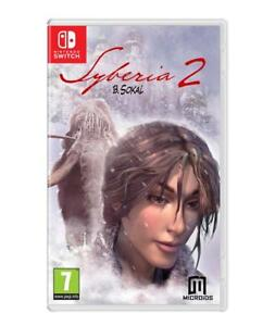 Syberia 2 SWITCH Neuf sous blister