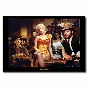 Marilyn Monroe on New York Rooftop 12x18//24x36inch Silk Poster Hot Cool Gifts