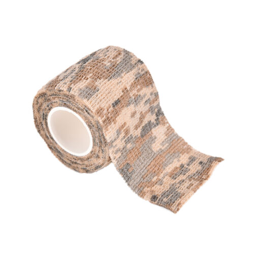 5CMx4.5M Camo Waterproof Wrap Hunting Camping Hiking Camouflage Stealth Tape LE