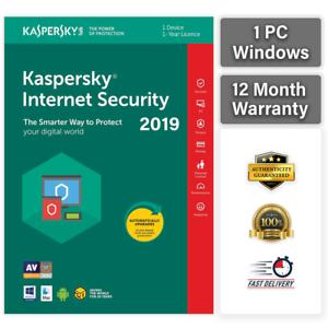 kaspersky internet security key ebay