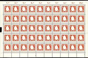 Bund-50er-Bogen-MiNr-199-postfrisch-MNH-Formnummer-1-BW7690