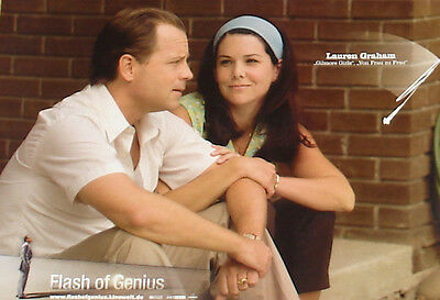FLASH OF GENIUS - Lobby Cards Set - Lauren Graham, Greg Kinnear - FORD