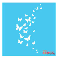 Butterfly Stencil Template - Paint It Yourself Diy Wall Art Furniture Airbrush  