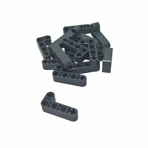 20 NEW LEGO Technic Liftarm 2 x 4 L-Shape Thick Dark Bluish Gray