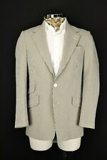 "38"" Long Paul Smith Seersucker Cotton Summer Striped Jacket Blazer Westbourne"