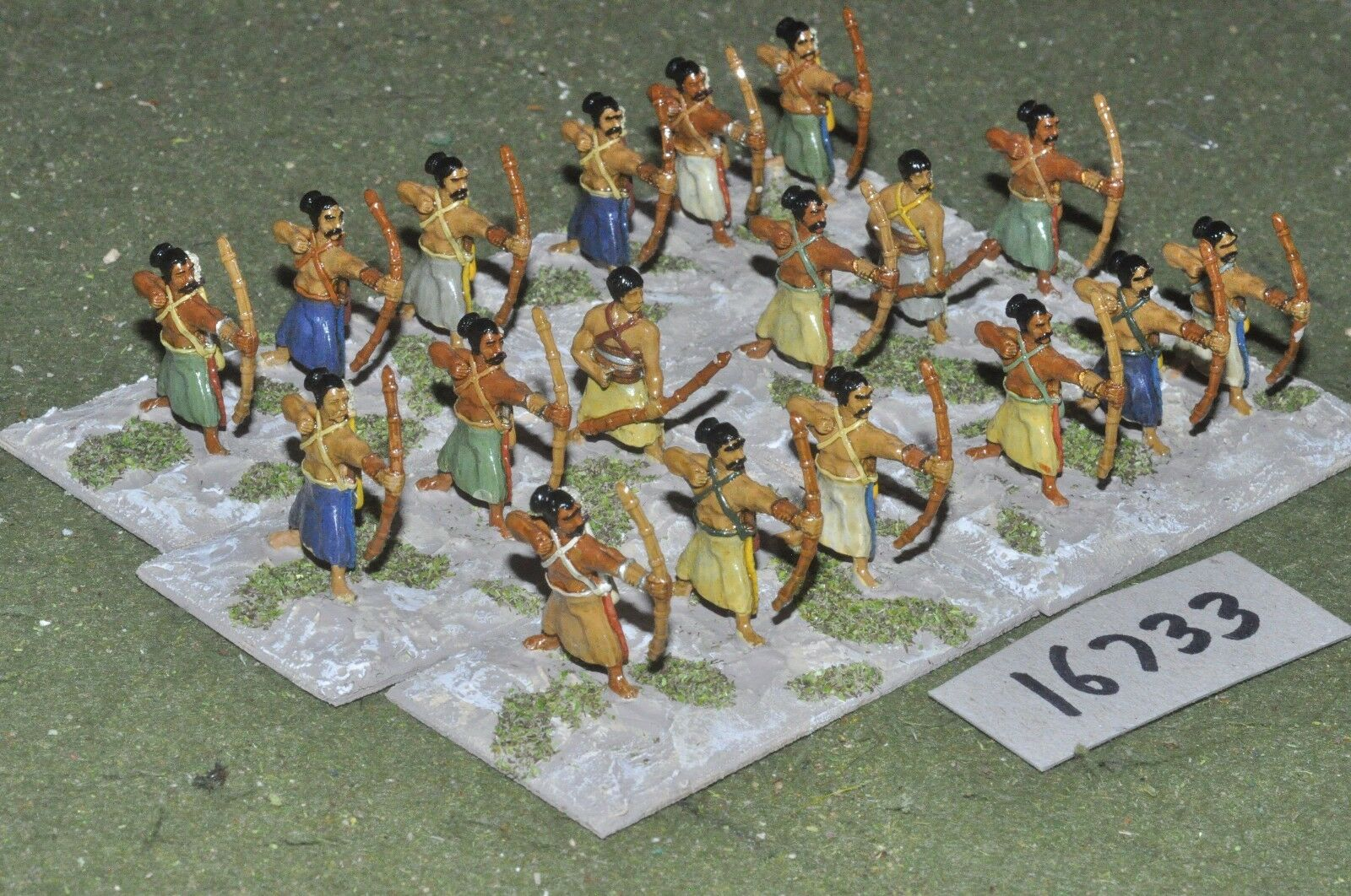 25mm classical   indian - archers 18 figs - inf (16733)
