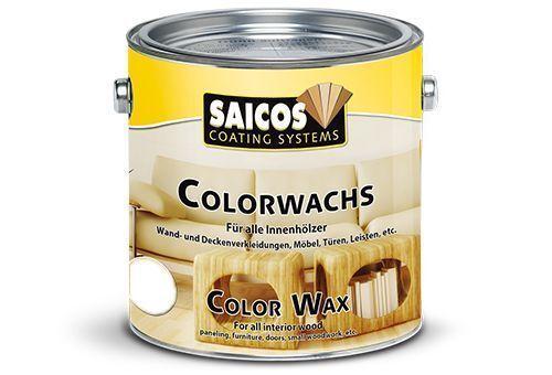 Saicos Farbewachs 3021 Kiefer 2,5L, transparenter Holzanstrich für Innen