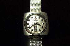 Vintage RADO Miami Automatic Men's Wristwatch 25 Jewels. NSA band, bev. Crystal