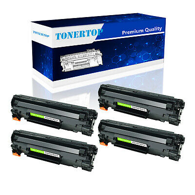 4PK CE285A Black Toner Cartridge 85A Fit for HP LaserJet  P1102 P1102WHP M1212NF