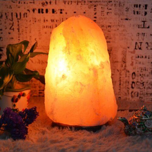 Pink 100/% Certified Pure Natural Crystal Rock Salt Lamp Himalayan Salt Lamp