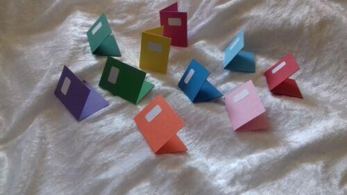 Set Mini Hefte Streu Tischdeko Party Einschulung handgemachte Deko top 3D 10tlg