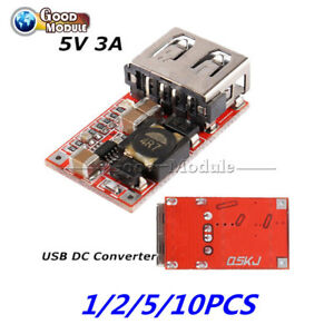 1-2-5-10PCS-DC-Buck-6-24V-12V-24V-to-5V-3A-Car-USB-Charger-step-down-Converter