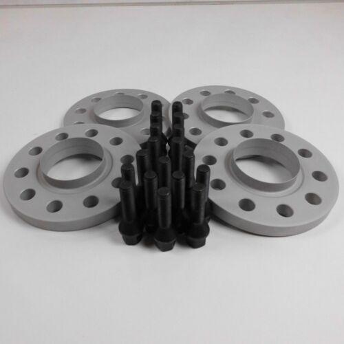 tornillos en negro Ensanchamiento va30mm//ha40mm bmw 5er e60//e61 incl