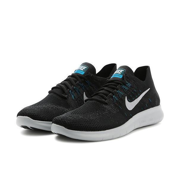 Nike Free RN Flyknit 2017 Hommes Baskets Taille UK 10.5 EUR 45.5