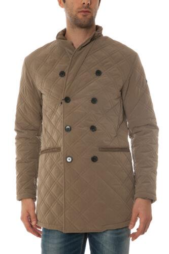 Cam Giubbotto 1h Giaccone Beige Armani Aj B6l70ah Jacket Jeans Uomo 8W81zr4xqw