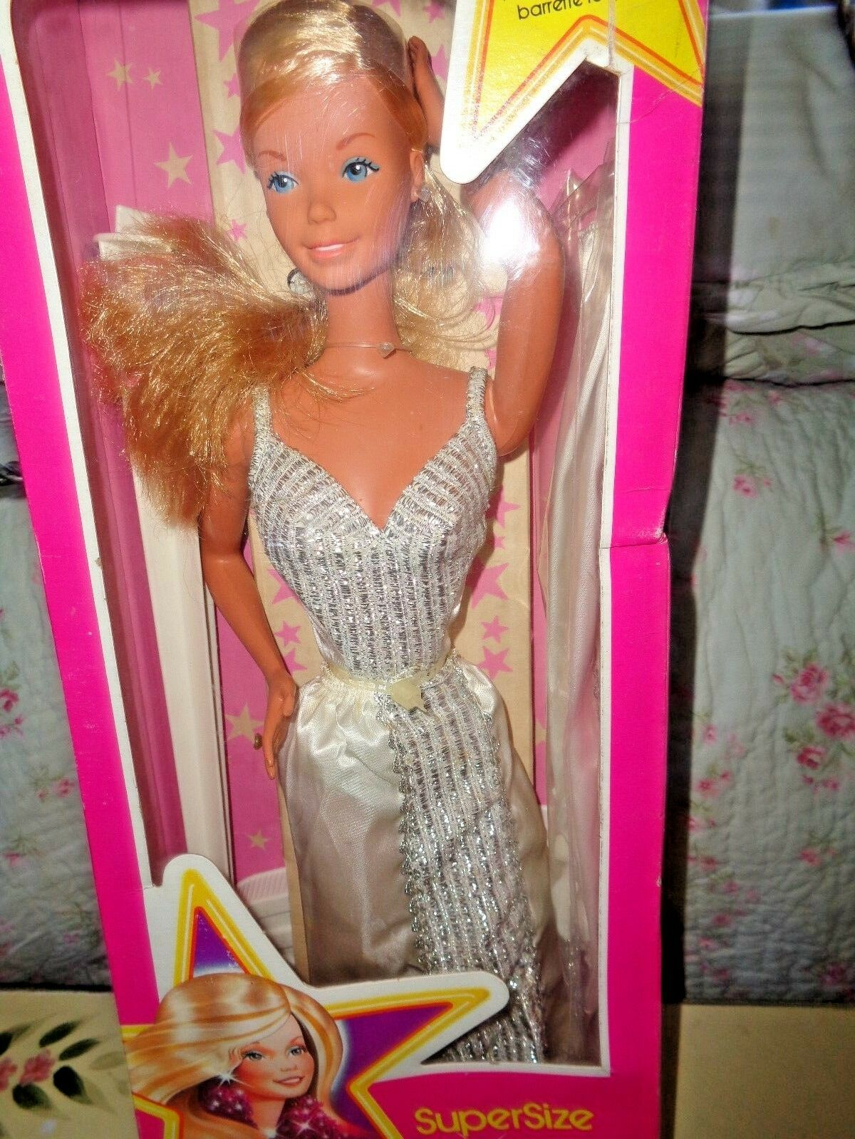 Super Star Barbie Mattel Vintage 1976 18