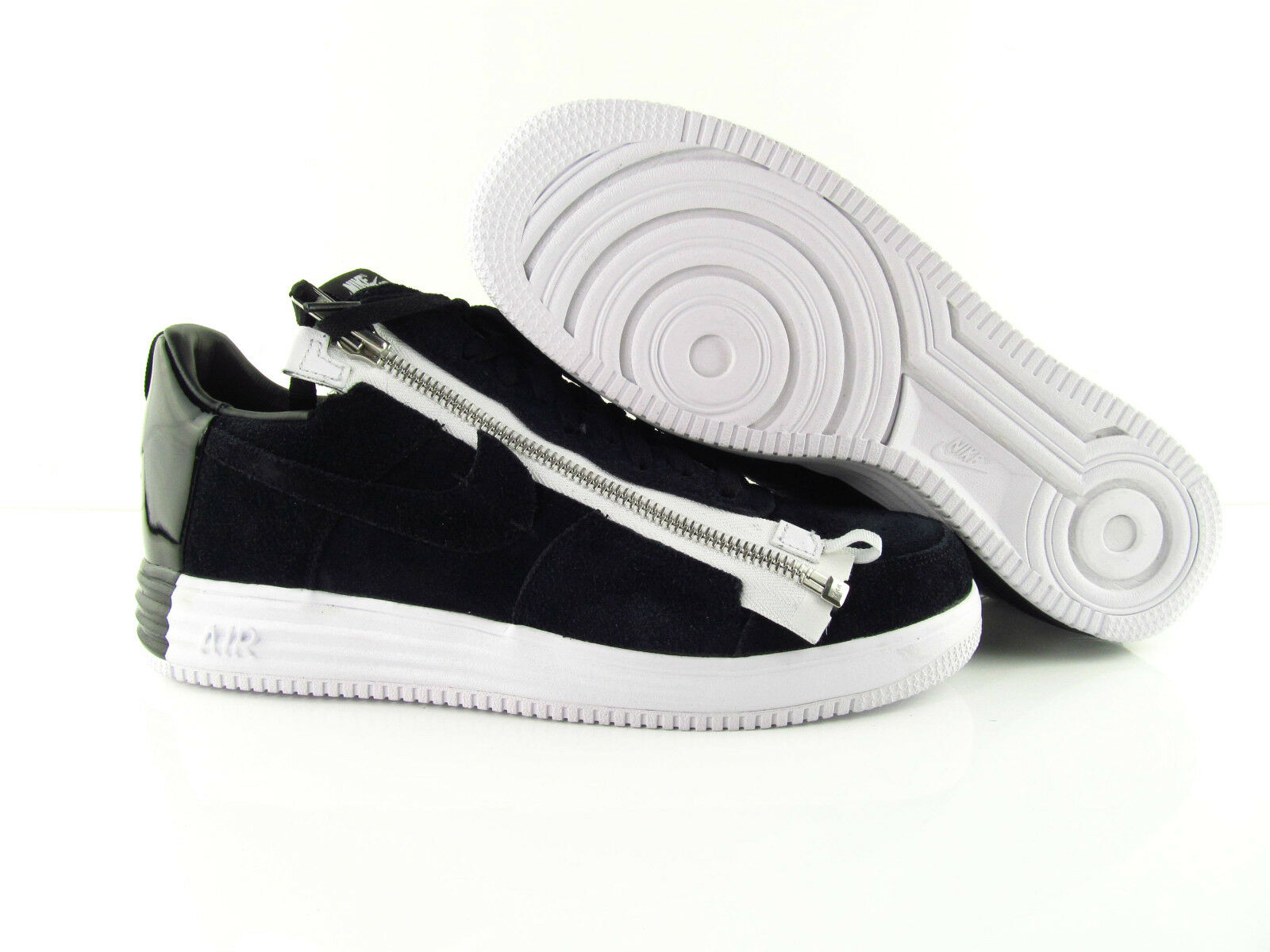 Nike Lunar Force 1 Acronym Black White Zipper Very Rare US_12 EUR 46