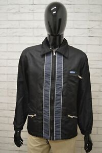 Giacca-REPLAY-Uomo-Taglia-Size-M-Giubbino-Giubbotto-Coat-Jacket-Man-Nero-Blu-Zip