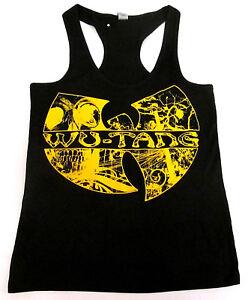 1d320b1aa4773 WU TANG CLAN Tank Top T-shirt Rap Hip Hop Gza Rza ODB JUNIORS Tops ...