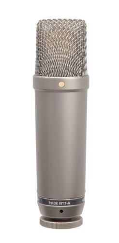 RODE NT1-A GROSSMEMBRAN KONDESATOR MIKROFON STUDIO MIC VOCAL RECORDING SET NIERE