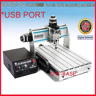 USB port ! ballscrew 300W 3040 CNC Router engraver engraving milling machine
