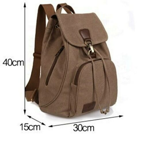 Student Laptop Bag Girl  Trip Outdoor Female Women/'s Canvas Backpack School Lady