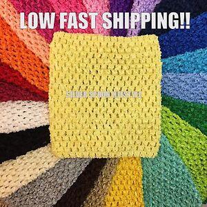 "10/"" 8/"" 12/"" Unlined /& Lined USA Seller Navy Blue Crochet Tutu Tube Top 6/"" 9/"""